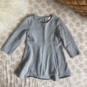 Baby Gap | Drop Waist Embellished Sweater Dress